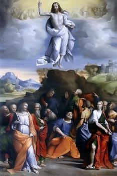 La Ascensión de Cristo - Garofalo