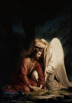Cristo en Getsemaní - Carl Heinrich Bloch