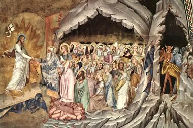 Descenso de Cristo al Limbo de los Padres - Andrea Da Firenze