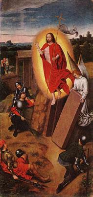 Resurrección de Cristo - Hans Memling