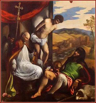SANTOS FABIÁN Y SEBASTIÁN, Mártires (con SAN ROQUE)