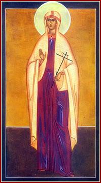 SANTA ÁGATA, Virgen y Mártir