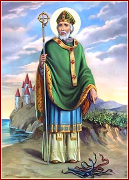 SAN PATRICIO, Obispo y Confesor