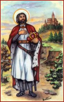 SAN GUNTRANO, Rey y Confesor