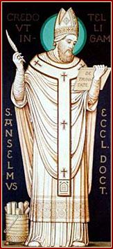 SAN ANSELMO, Obispo, Confesor y Doctor de la Iglesia