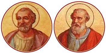 SANTOS CLETO Y MARCELINO, Papas y Mártires