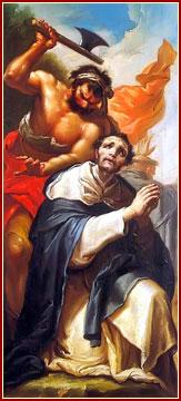 SAN PEDRO DE VERONA, Mártir