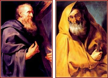 SANTOS FELIPES Y SANTIAGO EL MENOR, Apóstoles y Mártires