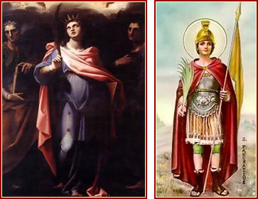 SANTOS NEREO, AQUILEO, DOMITILA Y PANCRACIO, Mártires
