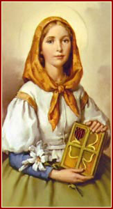 SANTA DYMPNA, Virgen y Mártir