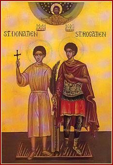SANTOS DONACIANO Y ROGACIANO, Mártires
