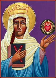 SANTA MARGARITA, Reina de Escocia