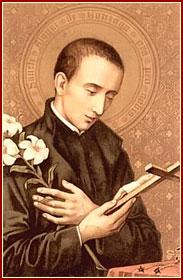 SAN LUIS GONZAGA, Confesor