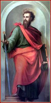 CONMEMORACIÓN DE SAN PABLO, Apóstol y Mártir