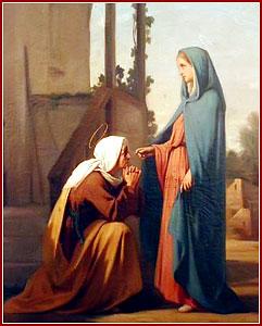 VISITACIÓN DE LA BIENAVENTURADA VIRGEN MARÍA A SU PRIMA SANTA ISABEL
