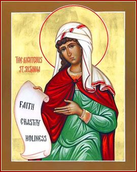 SANTA SUSANA, Virgen y Mártir