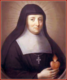 SANTA JUANA FRANCISCA FRMYOT DE CHANTAL, Viuda