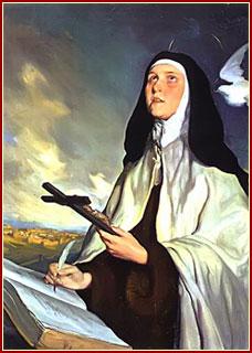 SANTA TERESA, Virgen y Doctora de la Iglesia