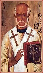 SAN GREGORIO TAUMATURGO, Obispo y Confesor