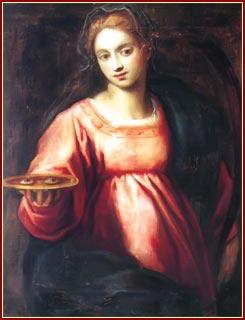 SANTA LUCÍA, Virgen y Martir