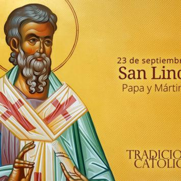23 de Septiembre: San Lino