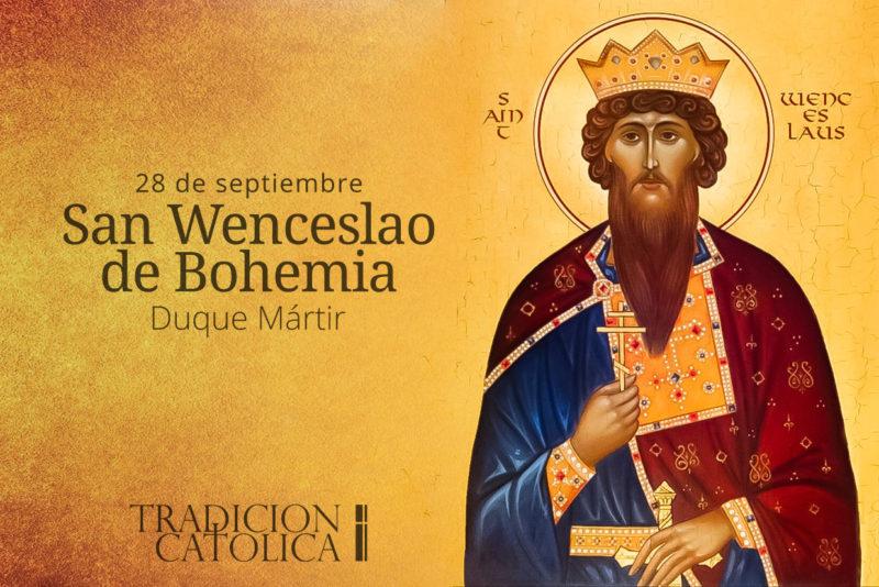 28 de septiembre: San Wenceslao