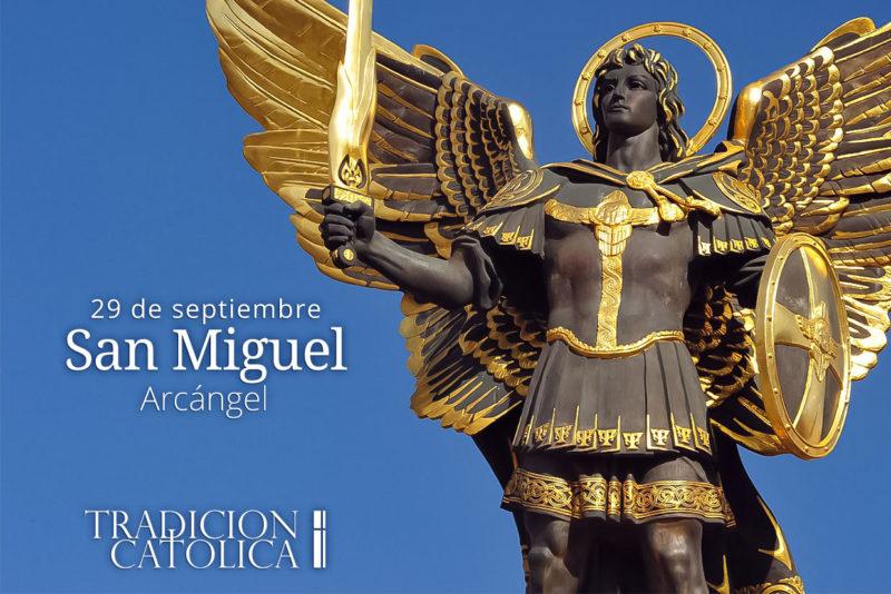 29 de septiembre: San Miguel  Arcángel