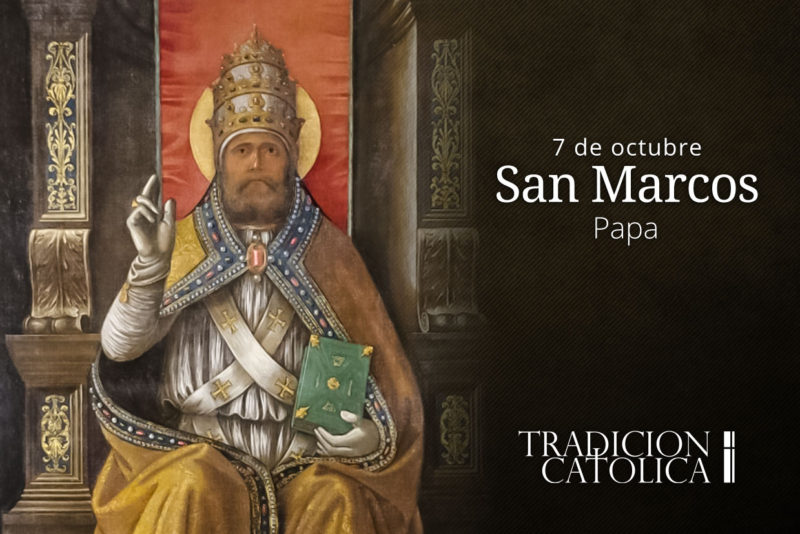 7 de octubre: San Marcos