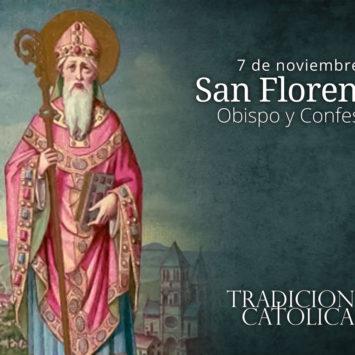 7 de noviembre: San Florencio