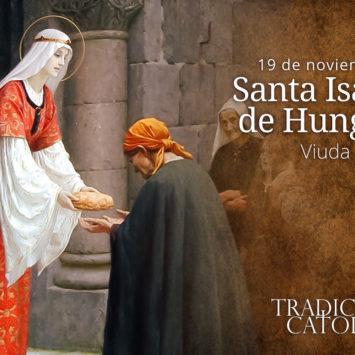 19 de noviembre – Santa Isabel de Hungría