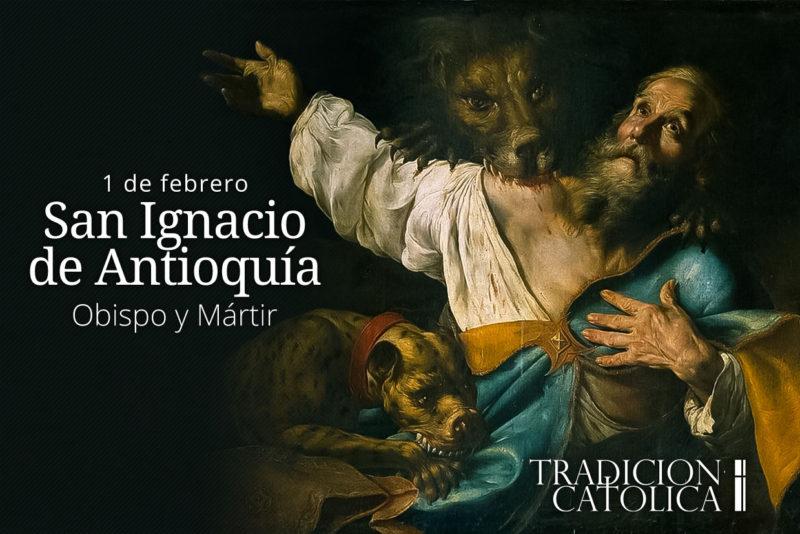 1 de febrero: San Ignacio de Antioquía