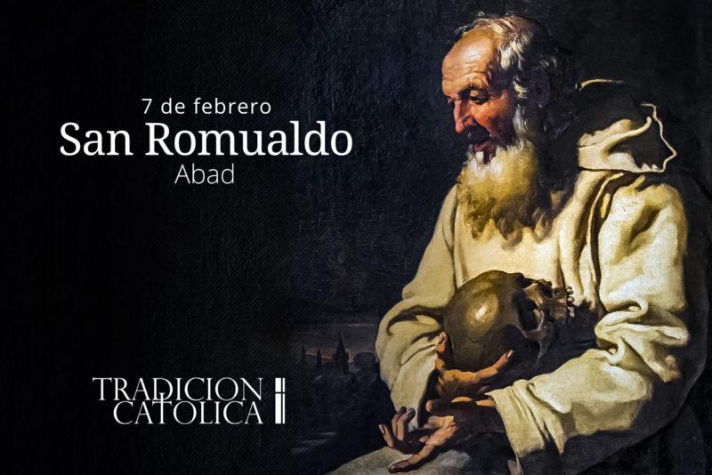 7 de febrero: San Romualdo