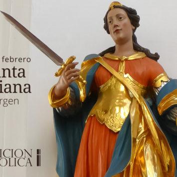 16 de febrero: Santa Juliana