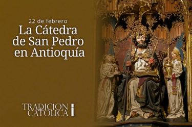 La Cátedra de San Pedro en Antioquía