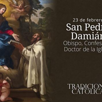 23 de febrero: San Pedro Damián