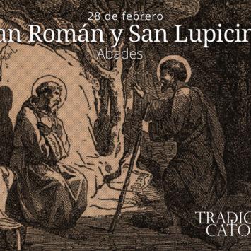 28 de febrero: San Román y San Lupicino