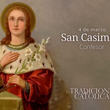 4 de marzo: San Casimiro