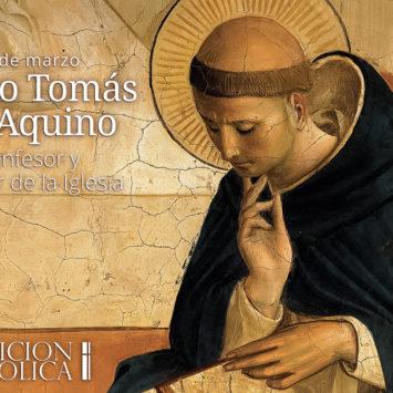 7 de marzo: Santo Tomás de Aquino