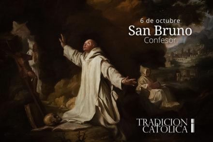6 de octubre: San Bruno