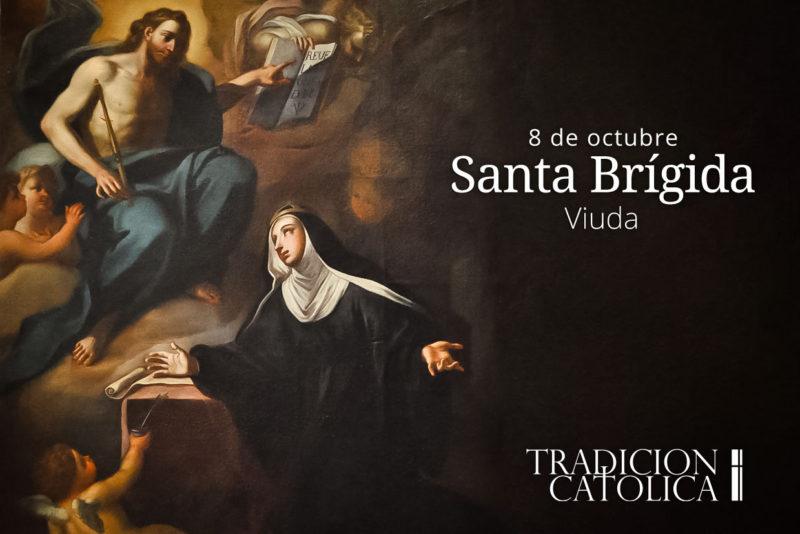 8 de octubre: Santa Brígida
