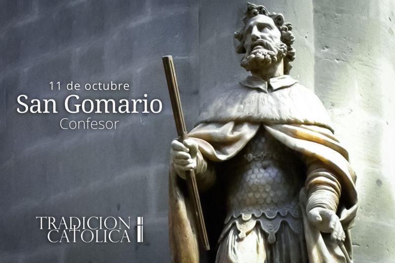 11 de octubre: San Gomario