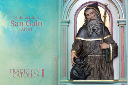 16 de octubre: San Galo