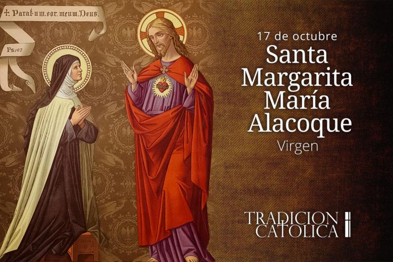 17 de octubre: Santa Margarita María Alacoque