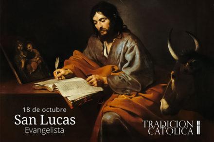18 de octubre: San Lucas