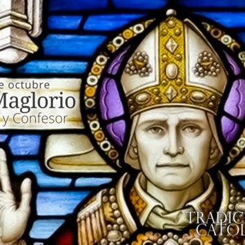 24 de octubre: San Maglorio
