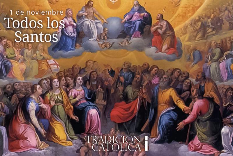 1 de noviembre: Fiesta de todos los Santos