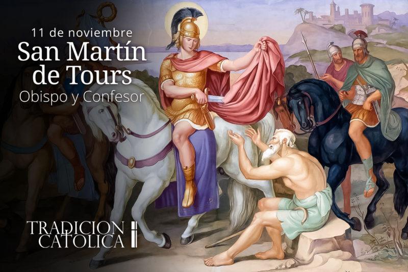 11 de Noviembre: San Martín de Tours