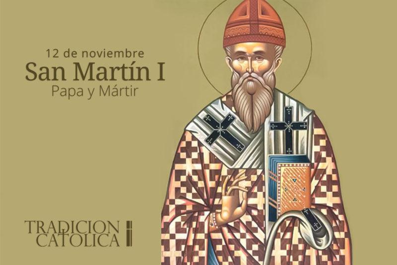 12 de noviembre: San Martín I