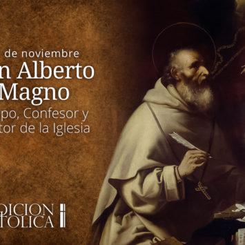 15 de noviembre: San Alberto Magno