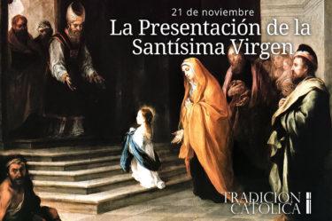 La Presentación de la Santísima Virgen